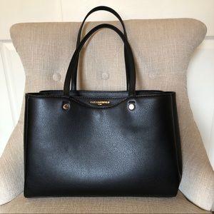 Black leather tote ⚡️